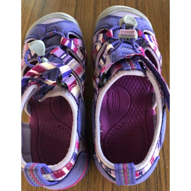 KEEN(キーン)の美品☆ KEENのサンダル19.5cm キッズ/ベビー/マタニティのキッズ靴/シューズ(15cm~)(サンダル)の商品写真
