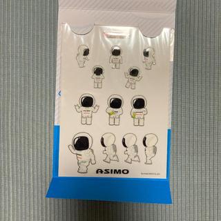 ホンダ(ホンダ)のHONDA ASIMOステッカー(ノベルティグッズ)