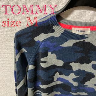 トミー(TOMMY)のTOMMY ライトニットカットソー Mサイズ(ニット/セーター)