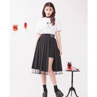 イートミー(EATME)のイートミー プリーツラップスカート(ひざ丈スカート)