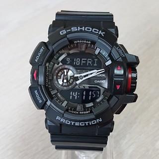 カシオ(CASIO)の【CASIO/G-SHOCK】デジアナ メンズ腕時計 GA-400-1BJF(腕時計(デジタル))