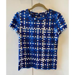 エルメス(Hermes)のエルメスボルデュックチェック半袖Tシャツ(Tシャツ(半袖/袖なし))