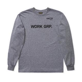 アンディフィーテッド(UNDEFEATED)のUndeafeated UACTP ロンT グレー Lサイズ 新品(Tシャツ/カットソー(七分/長袖))