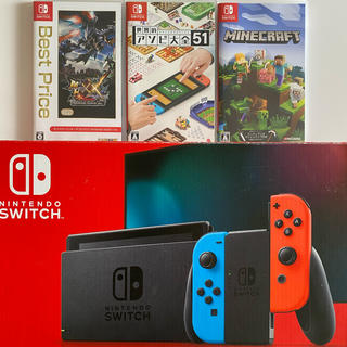 Nintendo Switch - ✨Nintendo Switch 新型✨ 大人気ソフト3本セット‼️
