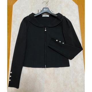 ルネ(René)のルネ ニットジャケット 34 ブラック(テーラードジャケット)