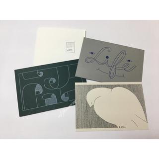 ミナペルホネン(mina perhonen)のミナペルホネン    ポストカード つづく展(写真/ポストカード)