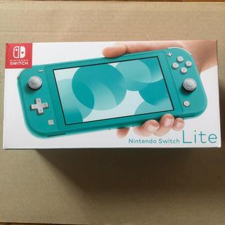 ニンテンドースイッチ(Nintendo Switch)のNintendo Switch Lite ニンテンドースイッチライト ターコイズ(携帯用ゲーム機本体)