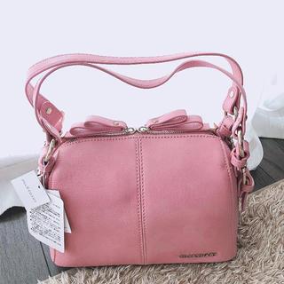 ジルスチュアート(JILLSTUART)のJILLSTUART リボンノットバッグ ピンク 新品未使用タグ付き(ハンドバッグ)