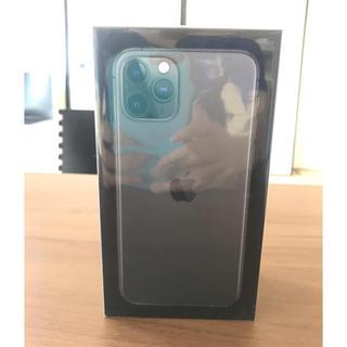アップル(Apple)の【5%クーポン対象】IPHONE 11 PRO SIMフリー 新品未開封(スマートフォン本体)