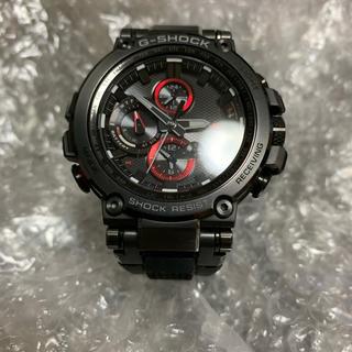 ジーショック(G-SHOCK)のMTG-b1000 G-SHOCK  レッド×ブラック 電波ソーラー(腕時計(アナログ))