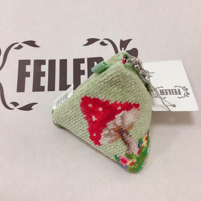 FEILER(フェイラー)のフェイラー マッシュルームフォレスト 三角ポーチ レディースのファッション小物(ポーチ)の商品写真