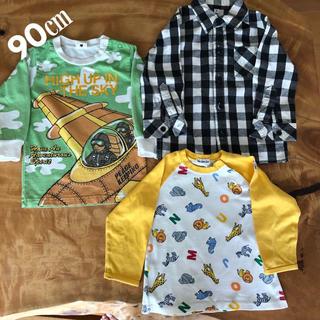 ムージョンジョン(mou jon jon)の90 男の子 まとめ売り(Tシャツ/カットソー)