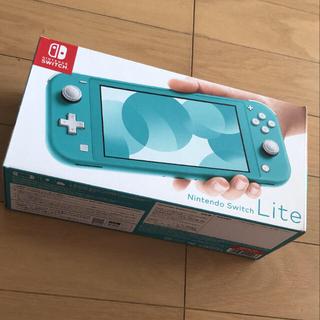 【1日以内配送】新品未使用 Switch ターコイズ(家庭用ゲーム機本体)
