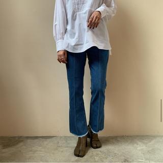 【PHEENY】vintage denim flared pants