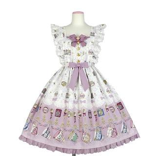 Angelic Pretty - Angelic Pretty Rose Tea Garden jsk ピンク