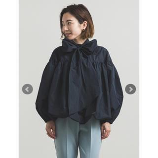 ドゥロワー(Drawer)のyori 2020AW 新作 新品未使用 タグ付き リボン ブラウス シャツ (シャツ/ブラウス(長袖/七分))