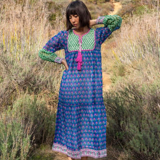 Ron Herman - SZ  Blockprints Jodhpur Dress/Ron Herman