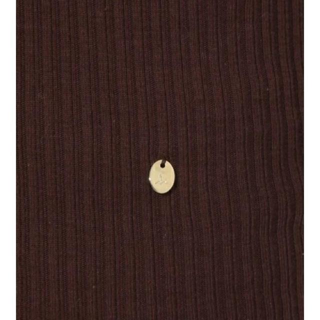 DEUXIEME CLASSE(ドゥーズィエムクラス)の新品 Mila Owen カシミヤ混 タンクトップ ブラウン レディースのトップス(タンクトップ)の商品写真