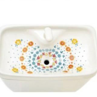 フェリシモ(FELISSIMO)のお花柄🌸トイレの手洗いタンクシート(その他)