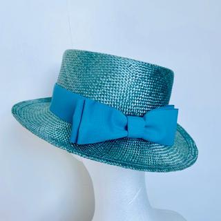 JaneMarple - ジェーンマープル グログランリボンカンカン帽 Jane marple
