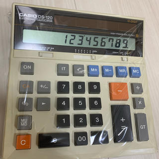 CASIO - CASIO カシオ 加算式 電卓 DS-120