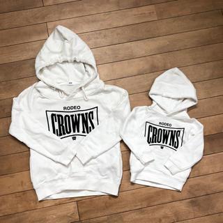 ロデオクラウンズ(RODEO CROWNS)の美品 ロデオクラウン パーカー 親子リンク お揃い(ジャケット/上着)