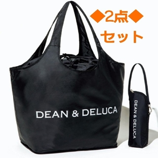 DEAN & DELUCA - 【2点セット】DEAN & DELUCA レジカゴバック&保冷ボトル
