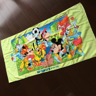 ミッキーマウス - ミッキー ディズニー バスタオル 2枚セット