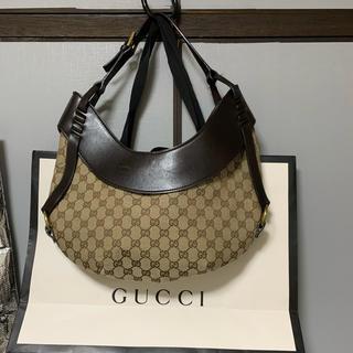 Gucci - GUCCI GG柄 ショルダーバッグ