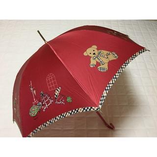 DAKS - 新品「DAKSダックス」雨傘レディースプリント長傘¥11000日本製