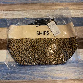 シップス(SHIPS)のSHIPS トート バッグ タッセル付き ブラウン 未使用 シップス(トートバッグ)