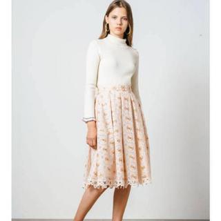 Lily Brown - リリーブラウン♡刺繍スカート