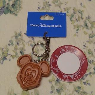 Disney - 値下げ不可*ミッキーワッフルキーホルダー ディズニー パークフード