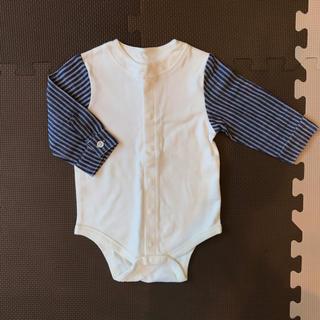 petit main - 【新品・未使用】petit main ロンパース 長袖