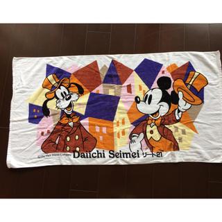 ミッキーマウス(ミッキーマウス)の新品 ミッキーマウス バスタオル 2枚セット(タオル/バス用品)