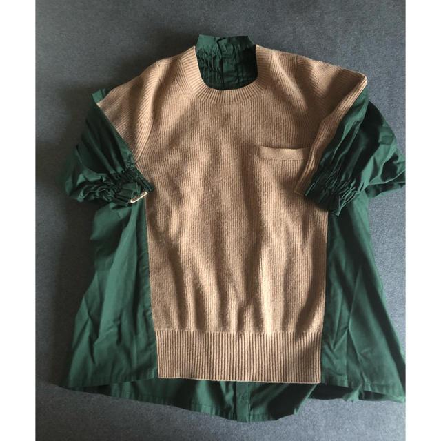 sacai(サカイ)のサカイ ニットシャツ1サイズ レディースのトップス(ニット/セーター)の商品写真