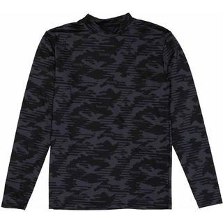 スパッツィオ spazio 裏起毛 迷彩インナーシャツ(ウェア)