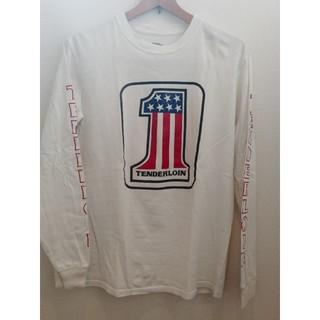 テンダーロイン(TENDERLOIN)のTENDERLOIN 長袖Tシャツ ロンT No.1 ホワイト 白 S(Tシャツ/カットソー(七分/長袖))