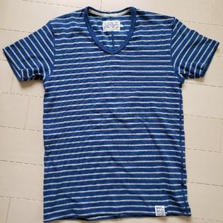 アズールバイマウジー(AZUL by moussy)のアズールバイマウジー ボーダー柄Tシャツ(Tシャツ/カットソー(半袖/袖なし))