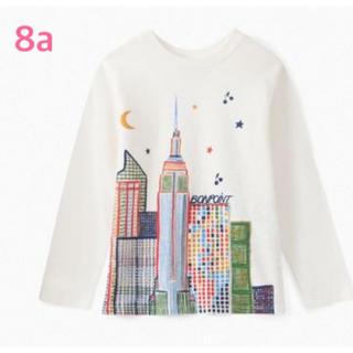 Bonpoint - ボンポワン 20AW ニューヨークTシャツ 8a