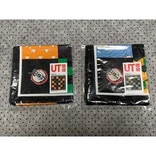 UNIQLO - ユニクロ 鬼滅の刃 UT購入特典 UTバンダナ ノベルティ2枚セットです。