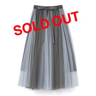 GRL - チュールスカート プリーツスカート ロングスカート