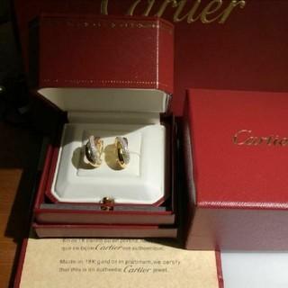 カルティエ(Cartier)のカルティエ ピアス 箱付き(ピアス)