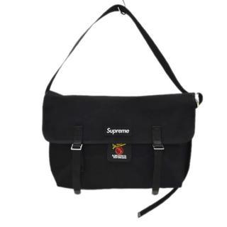 シュプリーム(Supreme)のSUPREME 20SS De Martini Messenger Bag 黒(メッセンジャーバッグ)