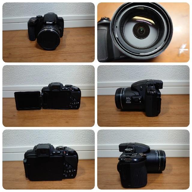 Nikon(ニコン)のNikon COOLPIX P600 スマホ/家電/カメラのカメラ(デジタル一眼)の商品写真