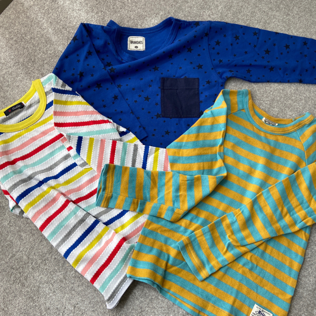 BREEZE(ブリーズ)の男の子、トレーナー&ロンTセット キッズ/ベビー/マタニティのキッズ服男の子用(90cm~)(Tシャツ/カットソー)の商品写真