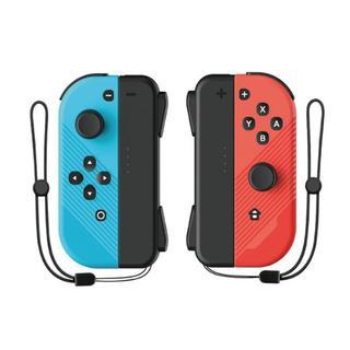 最新版 任天堂スイッチ switch コントローラー ブルー&レッド 互換