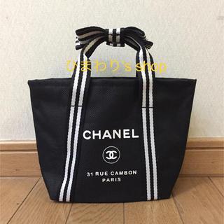 CHANEL - ノベルティ リボンハンドル ミニトートバッグ