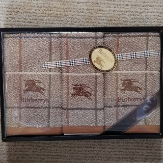 バーバリー(BURBERRY)のバーバリー フェイスタオル ウォッシュタオル(タオル/バス用品)
