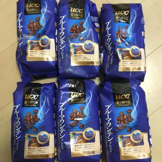 ユーシーシー(UCC)の送料込み UCCブルーマウンテンブレンド 豆タイプ 6袋(コーヒー)